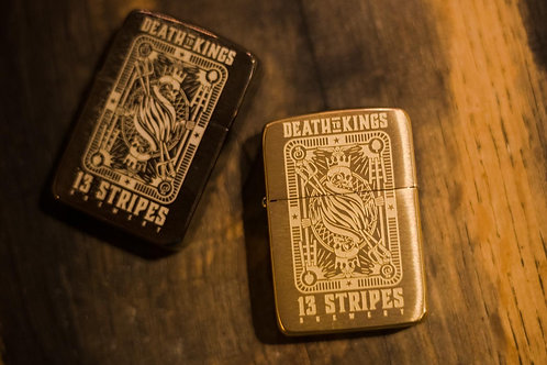 Death To Kings Zippo