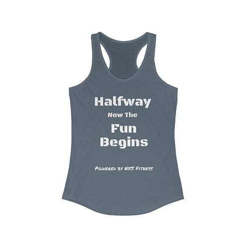 Halfway Women's Ideal Racerback Tank