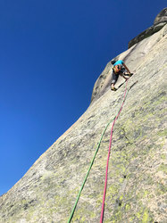 Questing upwards on crystals and crimps