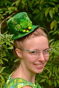 Loving the hat dahhling!