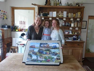 Kate, granddaughter and daughter
