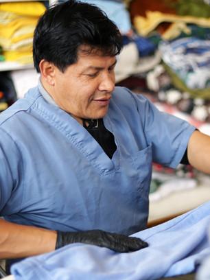 Servicio de ropería y lavandería