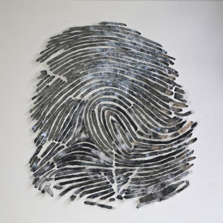 o. Titel - 2016, Glas, Holz, 150 x 150 x 10 cm