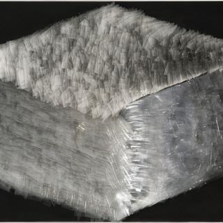 T. 12/12/07, Glas, Holz, 110x106x12 cm