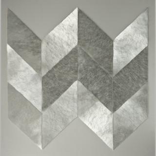 T. 15/09/12, Glas, Holz, 100x100x12 cm