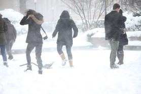 Snowstorm Niko