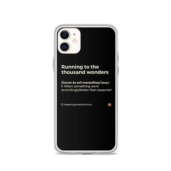 iPhone Case - Correr às mil maravilhas