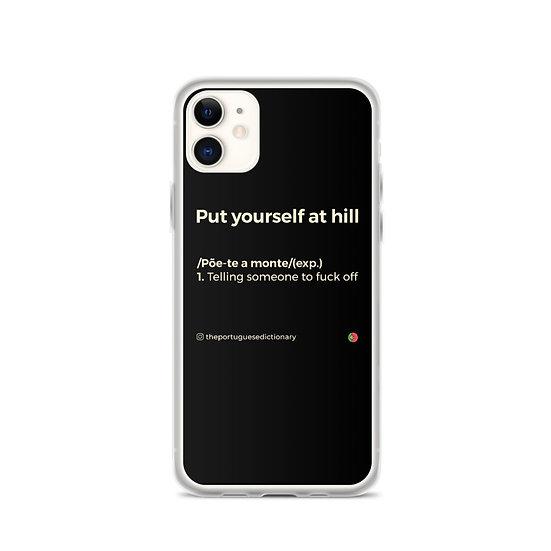 iPhone Case - Põe-te a monte