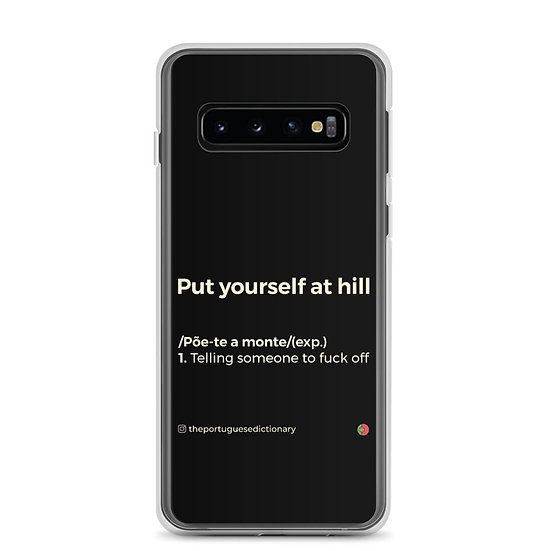 Capa Samsung - Põe-te a monte