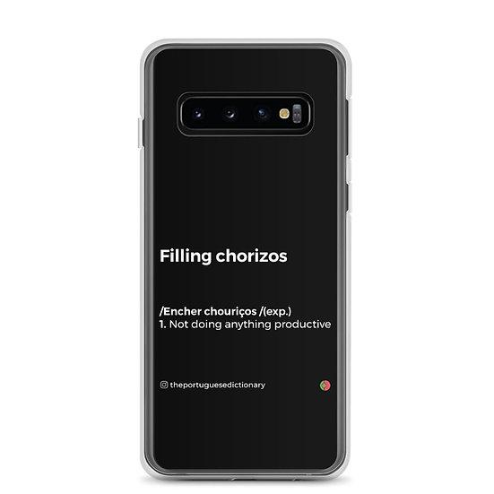 Capa Samsung - Encher Chouriços