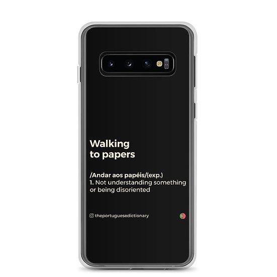 Capa Samsung - Andar aos papéis