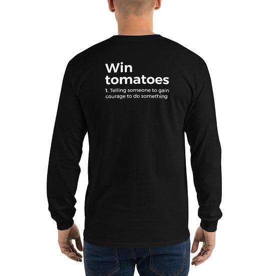 Camisola Manga Comprida - Ganha Tomates