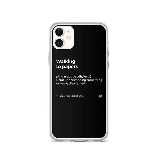 iPhone Case - Andar aos papéis