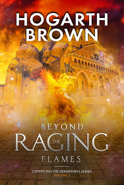 e-Book cover Beyond The Raging Flames.jp