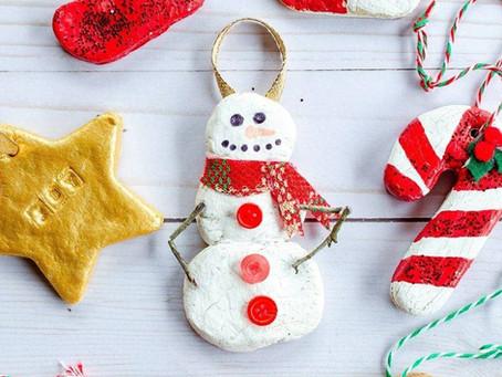 Salt Dough Christmas Decorations