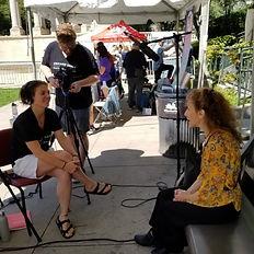 interview, video production, Hedy Weiss, Jenai Cutcher, Sean Raffert, Millenium Park, See Chicago Dance, chicago