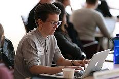 Jenai Cutcher, Art Institute of Chicago, laptop, conference