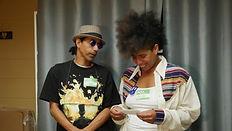 Poppin' Chuck Bledsoe and Carolyn Castillo, dancers
