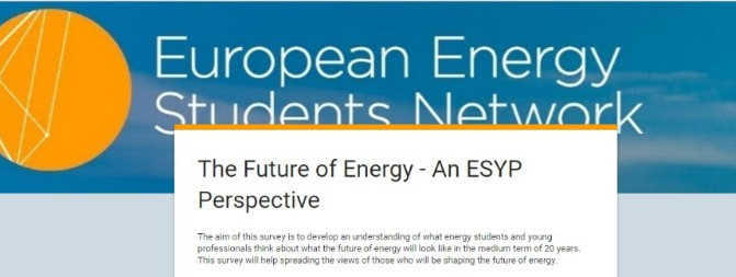 The Future of Energy - An ESYP Perspective [Survey]