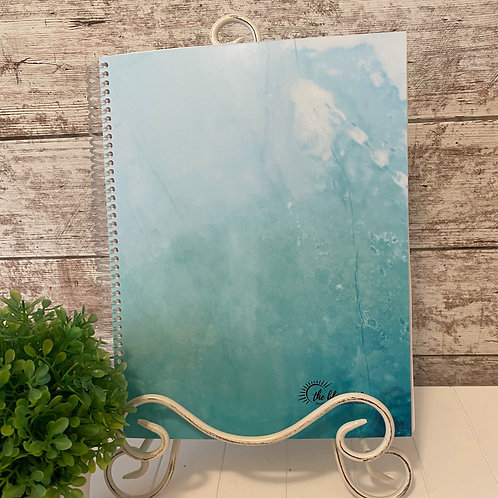 NEW Laminated Cover - Blue Water Full Size Journal