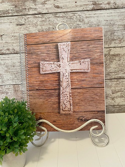 NEW Laminated Cover - Cross Full Size Journal