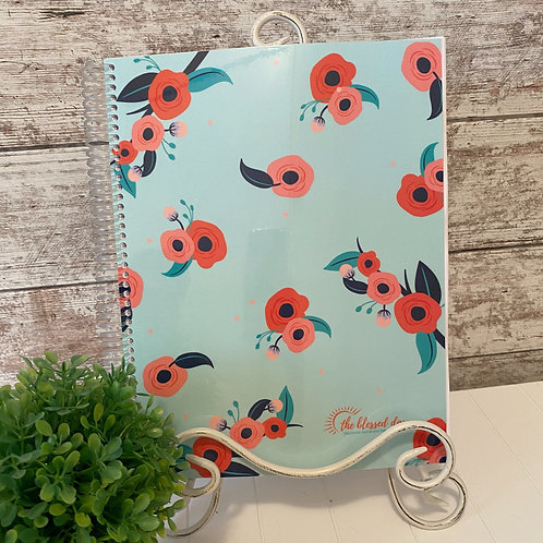NEW Laminated Cover - Poppies Full Size Journal