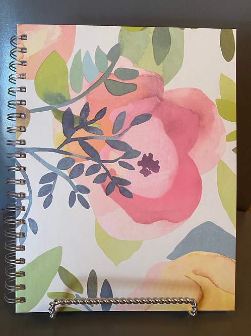 The Blessed Day Devotional Journal and Daily Planner -Colorful Floral