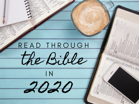 Read Through the BIBLE in 2020