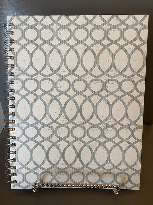 The Blessed Day Devotional Journal and Daily Planner -Blue Bubbles