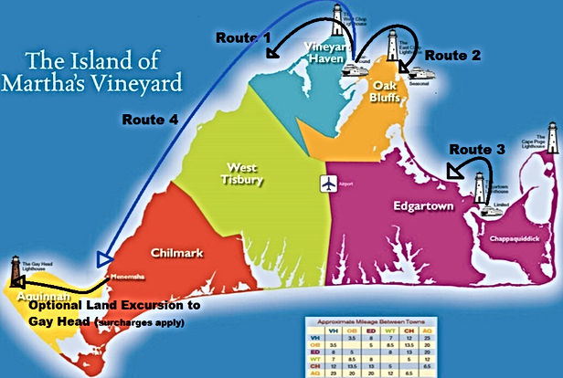 Martha's Vineyard Map