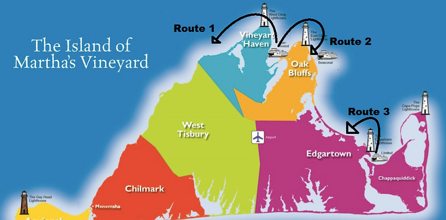 Martha's Vineyard sightseeing tours by boat