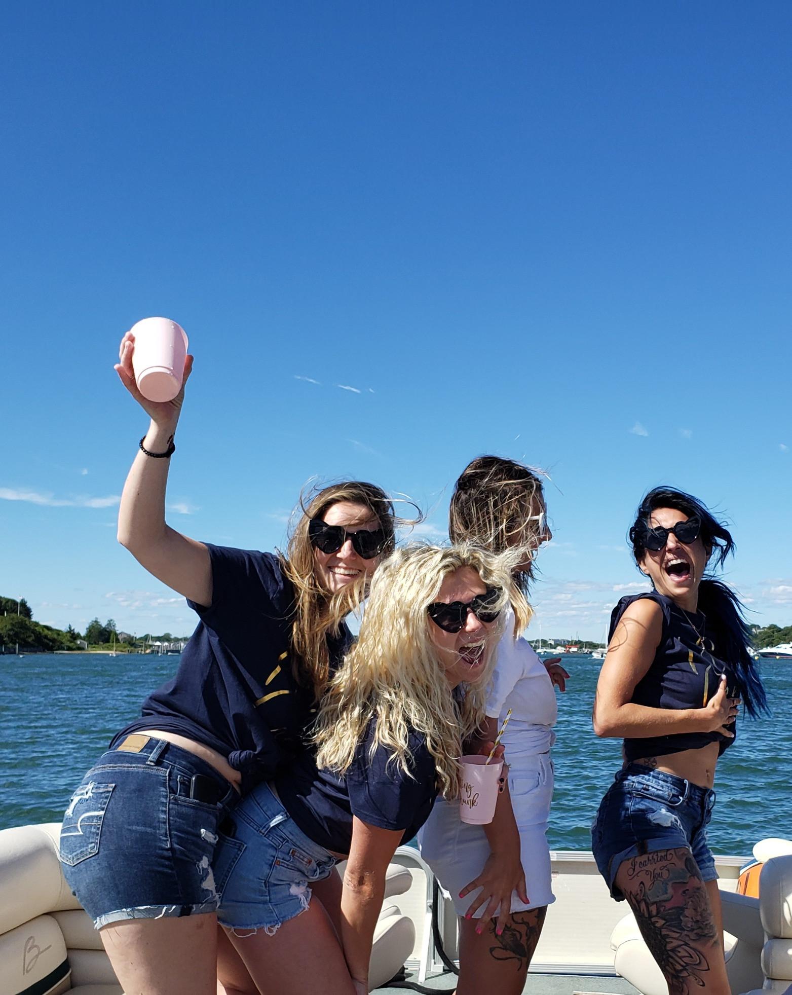 Martha's Vineyard Bachelorette Sea Party