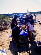 Escape Martha's Vineyard's summer traffic and crowded beaches. Let us take you on a harbor cruise while navigating to your own beach BBQ set up specially set up for you and your friends. Spend more time in the water, snorkeling and paddle boarding around our favorite hidden spots.