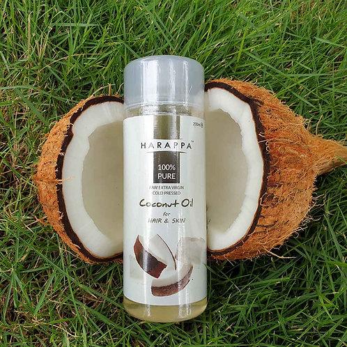 Natural HAIR & SKIN oil - Cold Pressed Coconut Oil - 200 ml