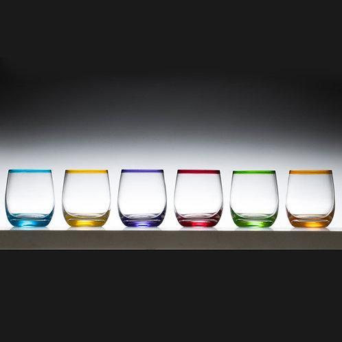 Tumbler Coloured Glass