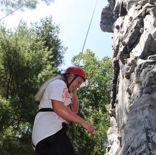 Rock Climbing - Abigail