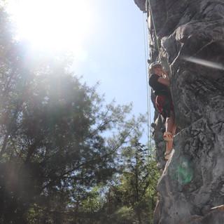 Rock Climbing - Landen