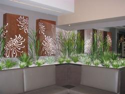 Internal Lounge Garden & Lightboxes