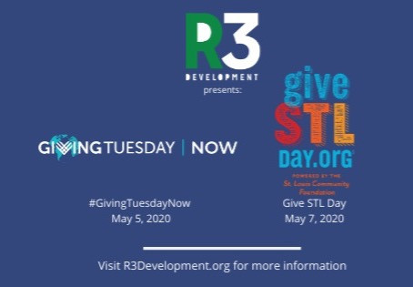 #GivingTuesdayNow and Give STL Day🎉 Save The Dates! #R3allin
