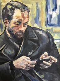 Modern Portrait (Distracted Sitter)