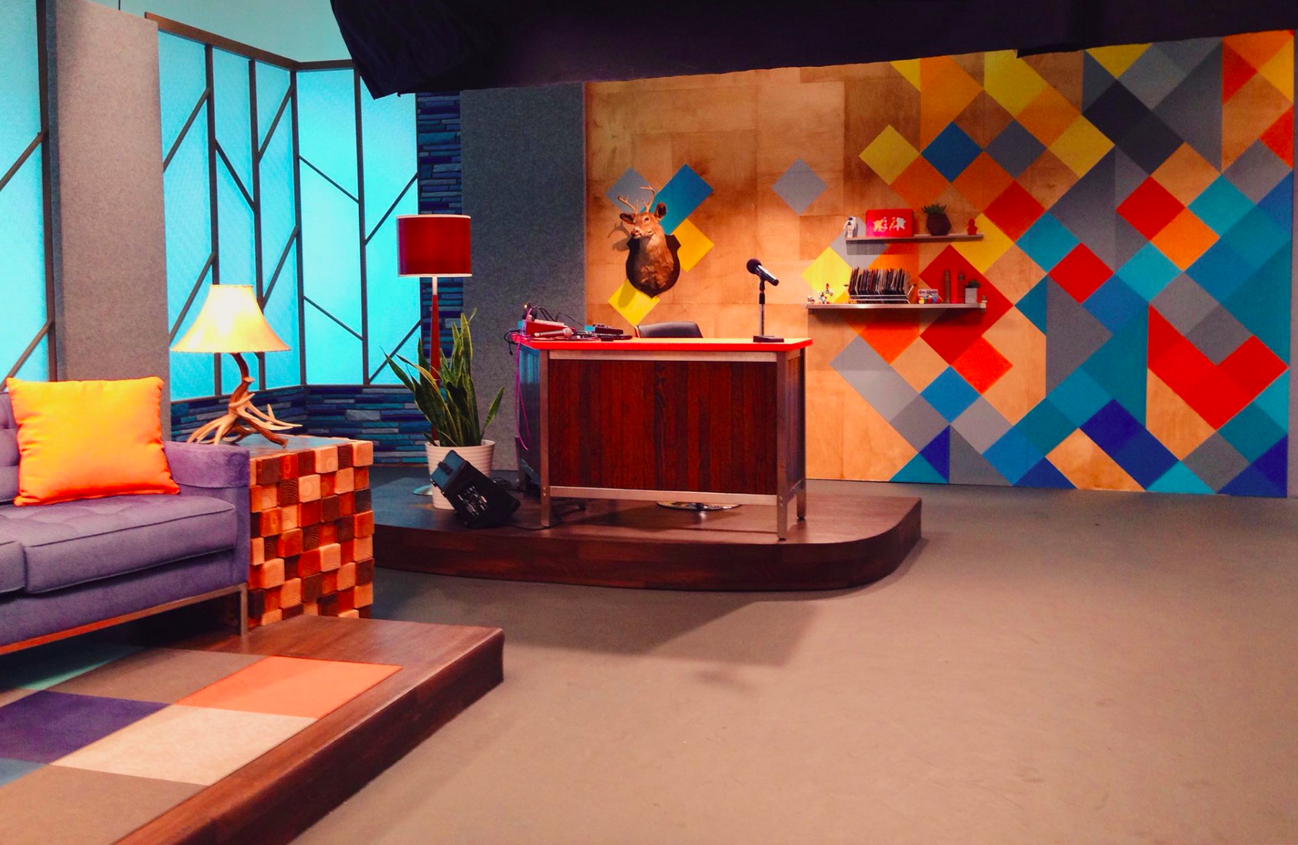 The Set of Comedy Bang Bang on IFC