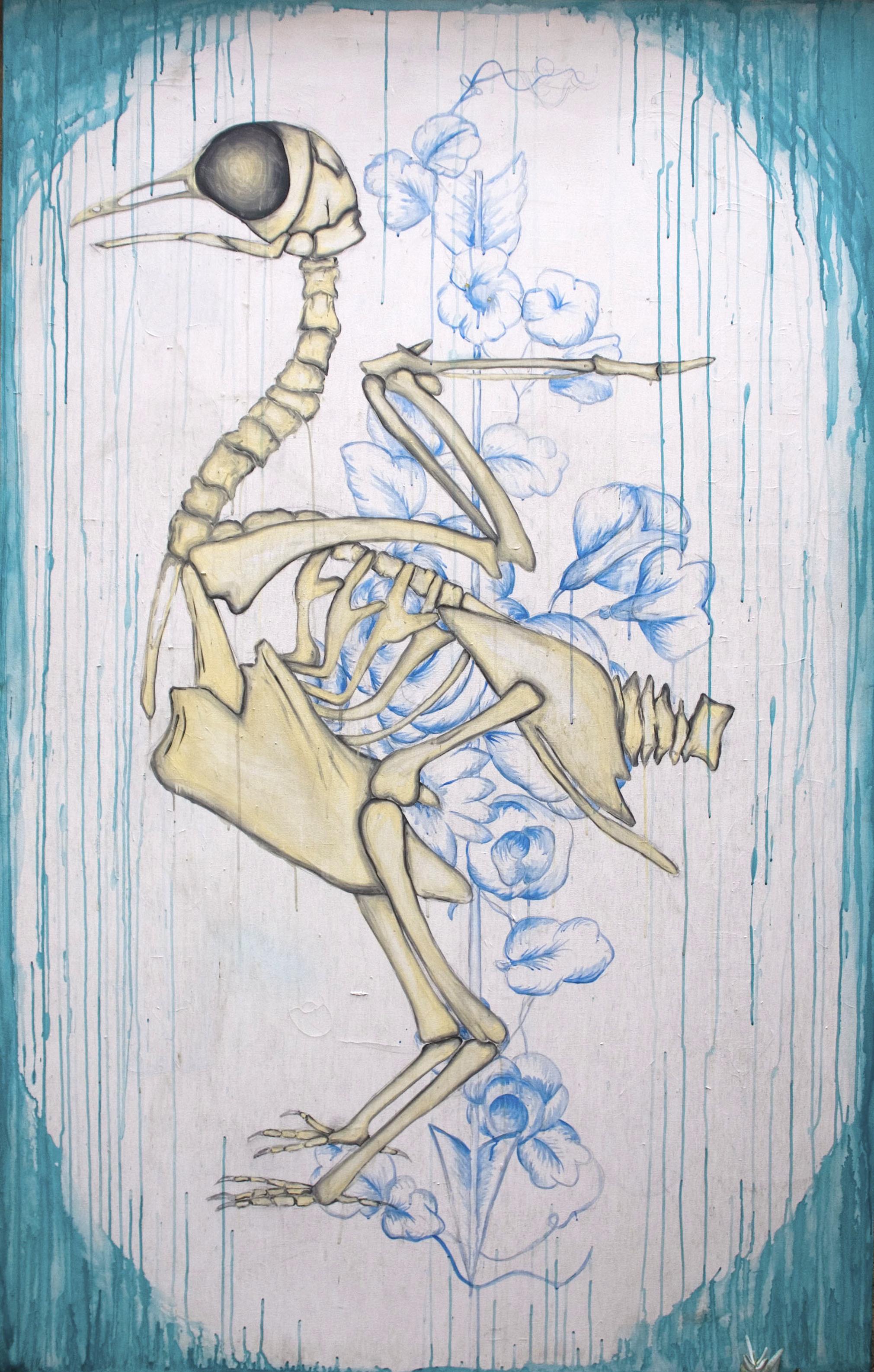 Skeleton Pigeon