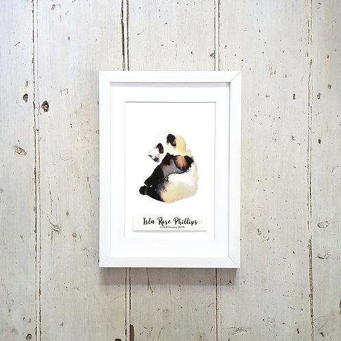 Personalised Animal Print