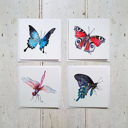 Flutters card 4 pack