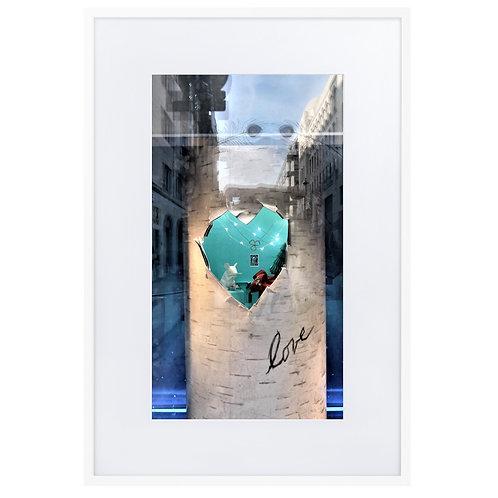 Finding love in Bond Street, London
