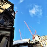 Work in progress in Knightsbridge, London