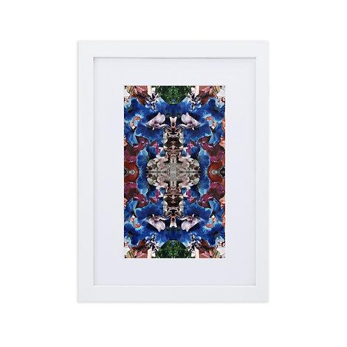 Flower collage patterns