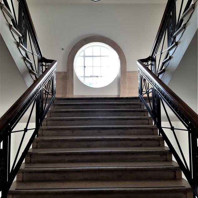 Inside Bush House, ex BBC, London