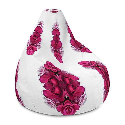 Magenta floral repeat
