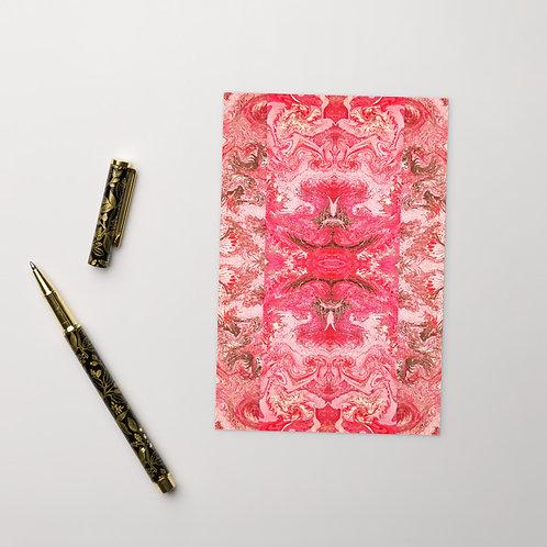 Magenta on pink symmetry